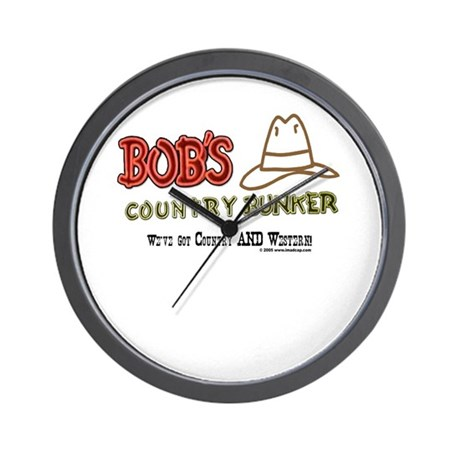 Bob's Country Bunker Wall Clock