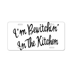 Bewitchin' In The Kitchen Aluminum License Plate