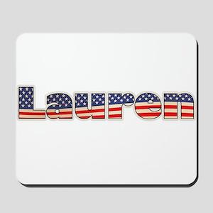 American Lauren Mousepad
