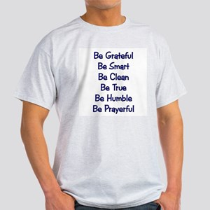 Gordon B. Hinckley says... Ash Grey T-Shirt