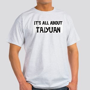 All about Taiyuan Ash Grey T-Shirt