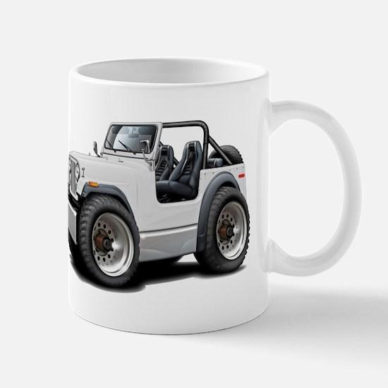 Jeep White Mug