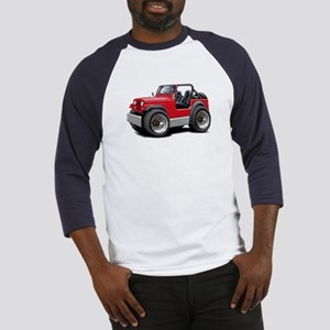 Jeep Red Baseball Jersey