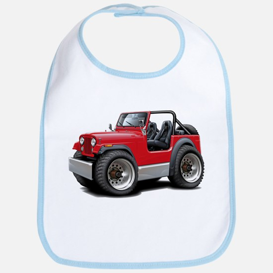 Jeep Red Bib
