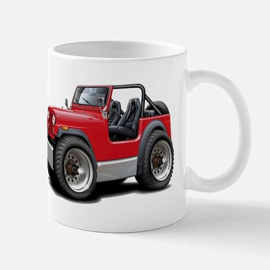 Jeep Red Mug