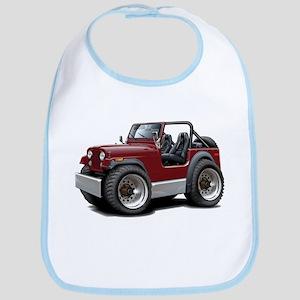 Jeep Maroon Bib