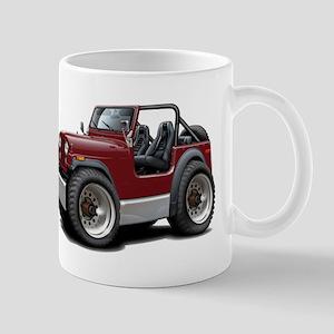 Jeep Maroon Mug