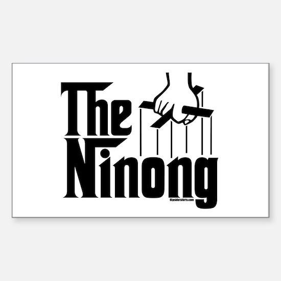 The Ninong Rectangle Decal