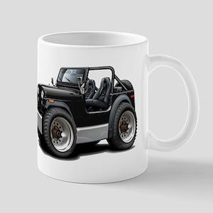 Jeep Black Mug