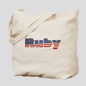 American Ruby Tote Bag