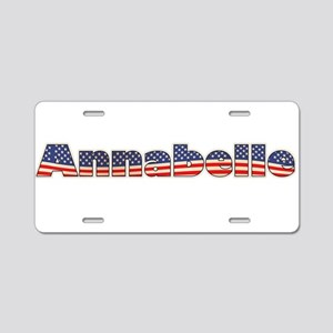 American Annabelle Aluminum License Plate