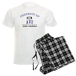 Property of Avo Men's Light Pajamas