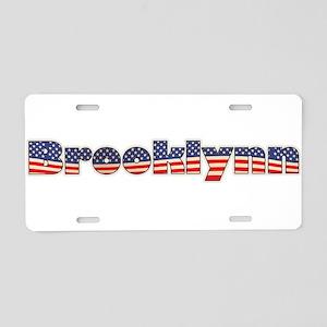 American Brooklynn Aluminum License Plate
