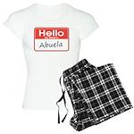 My Name is Abuela Women's Light Pajamas