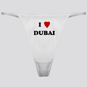 I Love Dubai Classic Thong