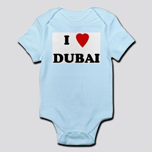 I Love Dubai Infant Creeper