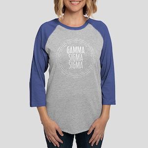 Gamma Sigma Sigma Arrows Womens Baseball T-Shirt