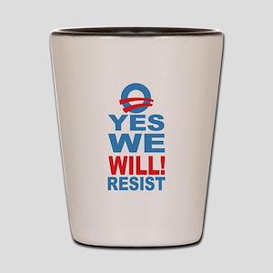 Resist Obama Shot Glass