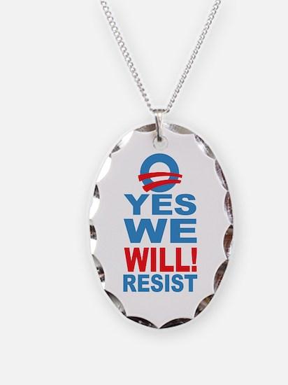 Resist Obama Necklace