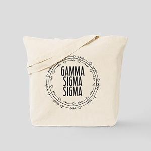 Gamma Sigma Sigma Arrows Tote Bag