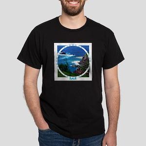 Maui Coast Black T-Shirt