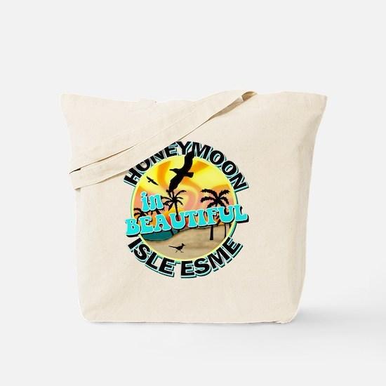 Honeymoon in Beautiful Isle Esme Tote Bag
