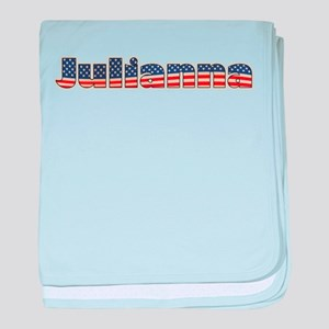 American Julianna baby blanket
