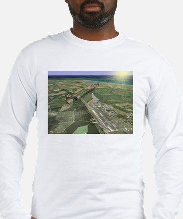 RAF Bentwaters F-4 Long Sleeve T-Shirt