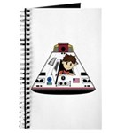 Astronaut and Space Capsule Journal