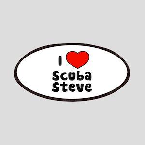 I Love Scuba Steve Patches
