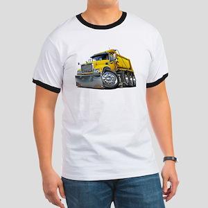 Mack Dump Truck Yellow Ringer T