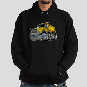 Mack Dump Truck Yellow Hoodie (dark)