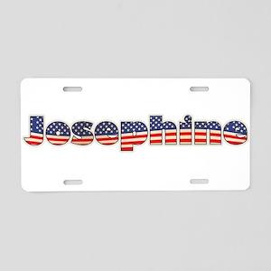 American Josephine Aluminum License Plate
