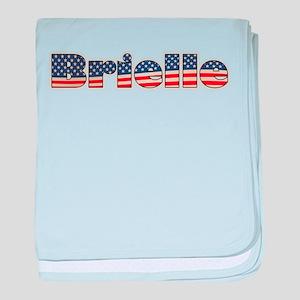 American Brielle baby blanket
