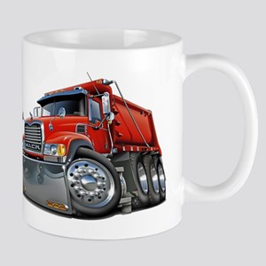 Mack Dump Truck Red Mug