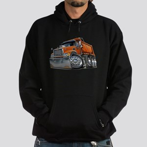 Mack Dump Truck Orange Hoodie (dark)