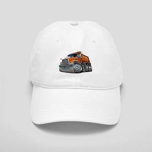 Mack Dump Truck Orange Cap