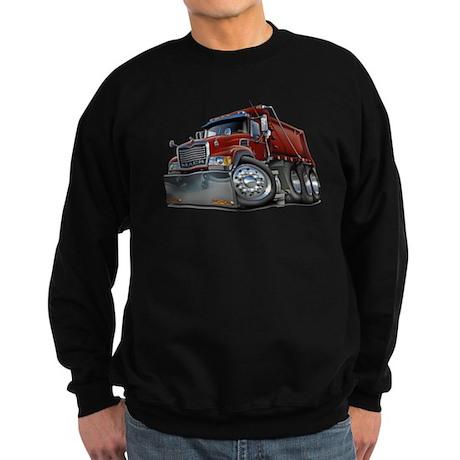 Mack Dump Truck Maroon Sweatshirt (dark)