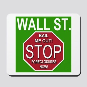 STOP Foreclosures Mousepad