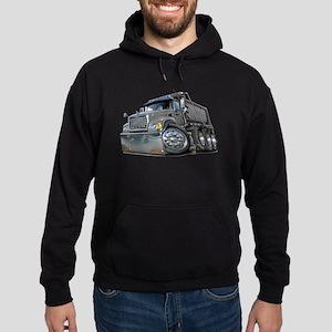 Mack Dump Truck Grey Hoodie (dark)