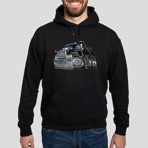 Mack Dump Truck Black Hoodie (dark)