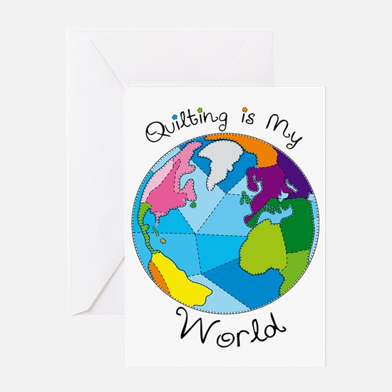 Quilter World Greeting Card