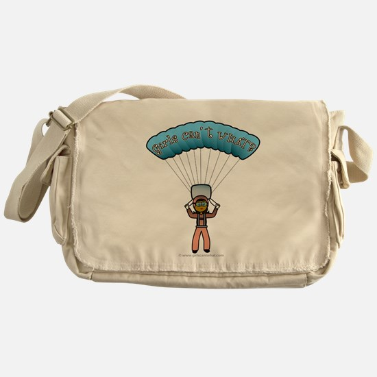 Dark Sky Diver Messenger Bag