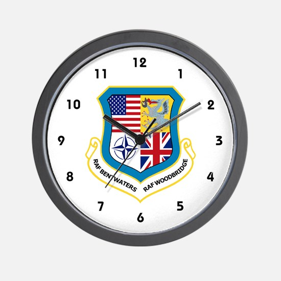RAF Bentwaters / RAF Woodbridge Wall Clock