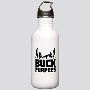 Buck Furpees Burpees Fitness Stainless Water Bottl