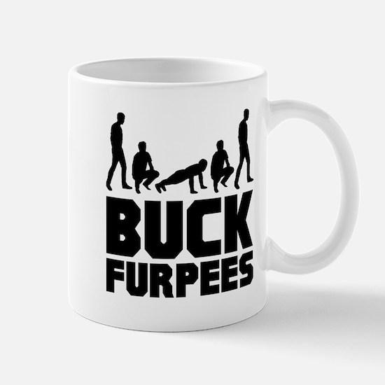 Buck Furpees Burpees Fitness Mug