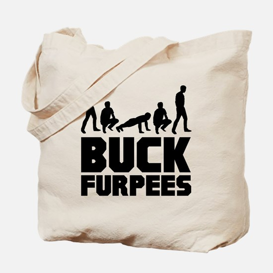 Buck Furpees Burpees Fitness Tote Bag