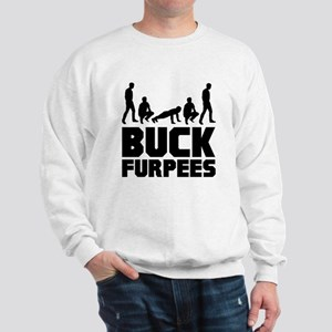 Buck Furpees Burpees Fitness Sweatshirt