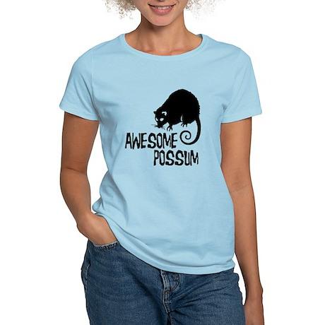Awesome Possum Women's Light T-Shirt