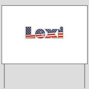 American Lexi Yard Sign